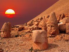 Nemrut, Kahta, Turkey | Read travel stories: http://scarletscribs.wordpress.com/