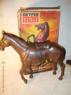 ¡LOS ORIGINALES! GEYPERMAN GEYPER MAN ORIGINAL 70/80. CABALLO Y SU CAJA REF. 7410. 1975.