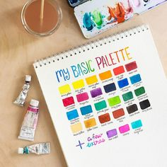 Curious to try watercolor for the first time? Learn more about basic supplies and beginner techniques to try.