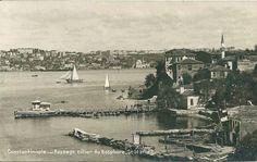 Salacak, Üsküdar, Istanbul, Turkey. Asian shore of the Bosporus.