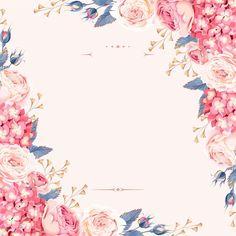Celebração de Casamento convite de Casamento estilo Flores Fundo Pintado à mão., Estilo Europeu, Casamento, A Celebração, Imagem de fundo