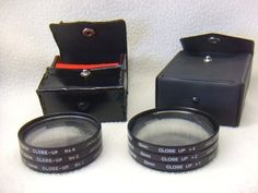 2 Sets of Close-Up Lens Filters ~ Promaster 55mm & Prinz 49mm ~ Both +1 +2 +4
