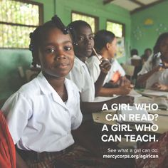 See what else a girl can do at www.mercycorps.org/agirlcan