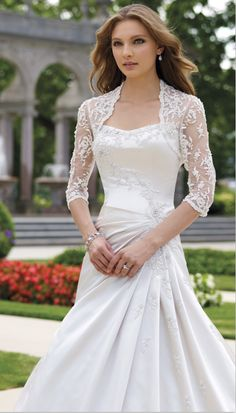 love love the top lace wedding dresses