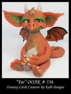 Fantasy Little Dragon Dollhouse Quartz Art Doll Polymer Clay CDHM OOAK Iadr TUR | eBay