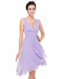 Gorgeous MIA Lilac Chiffon Bridesmaid Evening Wedding Races Dress - www.eloises-secret-closet.co.uk