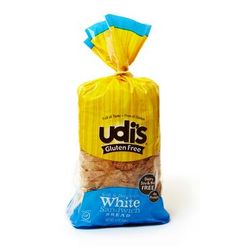 White Sandwich Bread | Udi's® Gluten Free Bread low #FODMAP. Does contain xanthan gum, but may work for some.