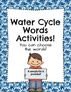 Water+Cycle+Words+Activities!+from+Shabbyteacher+on+TeachersNotebook.com+-++(7+pages)++-+These+engaging+Water+cycle+themed+templates+are+great+for+you+to+use+with+your+students+to+practice+those+hard+and+length+science+Words!+Students+will+be+writing,+coloring,+and+drawing+all+while+...
