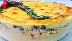 Imagem do bolo de batata recheado (Foto: Washington Ferreira / TV Jornal)