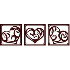 Silhouette Design Store - View Design #51779: fancy heart