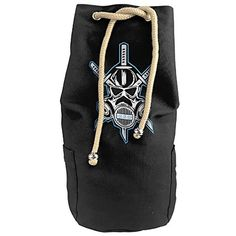 Cool AJ Styles The Club No One Is Safe Logo Drawstrings Gym Backpack Bag ** Want additional info? Click on the image.