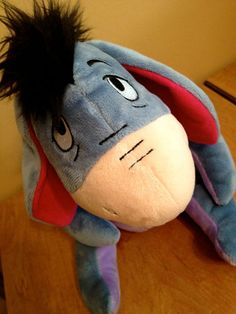 EEYORE Plush Disney Stuffed Animal Toy ~ Winnie The Pooh Eyeore Kohl's Cares