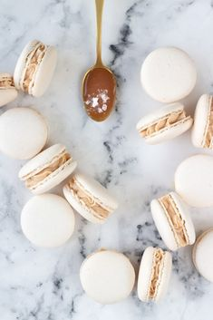 French Macaroons, Macaroon Recipes, Sweet Recipes, Food And Drink, Sweets, Cookies, Sweet Sweet, Advent, Christmas