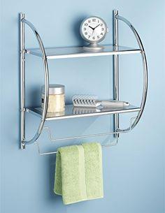 Whitmor 6060-3570-BB Chrome 2-Tier Shelf and Towel Rack W... https://www.amazon.com/dp/B004W4B6XK/ref=cm_sw_r_pi_dp_x_3dubybXZ0CVMT