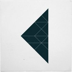#533 Breakpoints – A new minimal geometric composition each day.