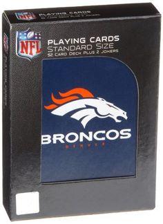NFL Denver Broncos Playing Cards by PSG. $2.90. NFL Denver Broncos Playing Cards