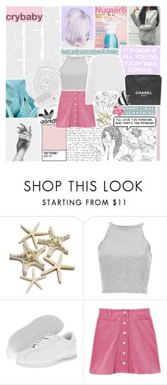 """""""sing me like a choir / COLLAB WITH NOELLE ♡"""" by hhuricane ❤ liked on Polyvore featuring Zephyr, NIKE, Acne Studios, Chanel and collections"""