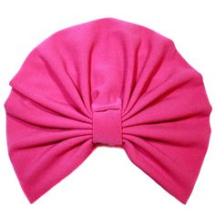 Girls Pink Turban by Brooklyn Boo available at WWW.NOOSHIMOU.COM.AU