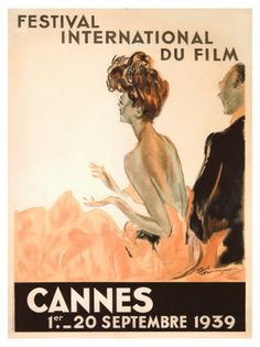 "Jean-Gabriel Domergue ""Festival International du Film, Cannes, 1939"