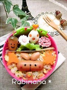 【ウィンナーdeうさぎのお弁当】|レシピブログ