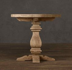 Merveilleux A Fabulous List Of 21 Round And Wooden Pedestal Coffee Table Bases