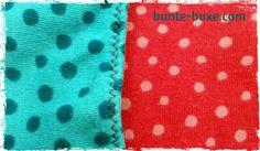Unterhose - Vorne: pink gepunktet, hinten: türkis gepunktet - Interlock Jersey - Westfalenstoffe Junge Linie - 100% Baumwolle - Ökotex Standard 100