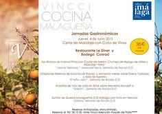 Menú Sabor a Málaga con mermelada mango málaga (mmm…). Hotel Vincci Selección Posada del Patio. Málaga