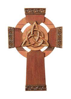Trinity Knot Celtic Cross Small churches dot the Irish countryside; Celtic Paganism, Celtic Symbols, Celtic Art, Celtic Christianity, Celtic Crafts, Celtic Crosses, Celtic Circle, Celtic Trinity Knot, Celtic Knots
