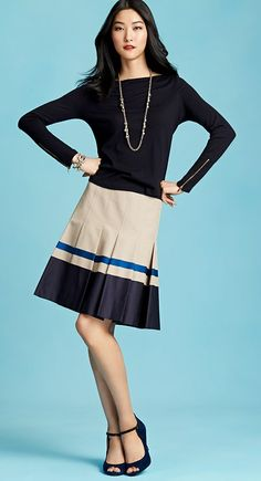 Ann Taylor - preppy style