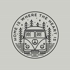By @liamashurst - . Tag #designarf to featured! . #graphicdesign #design #illustration #art #artwork #drawing #handdrawn #travel #explore #outdoors #nature #camping #campervan #slowroastedco #designer #graphic #picoftheday #instagood
