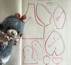 мишки тедди своими руками выкройки: 18 тыс изображений найдено в Яндекс.Картинках