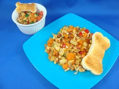 """The Dog's Breakfast"" - egg & sweet potato hash that you can serve your kids and your dogs!"