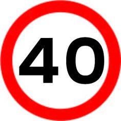 670 Maximum 40 £0.99 #signs #traffic #road #UK