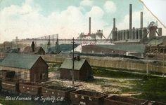 Steel plant Blast Furnace - Beaton Institute Digital Archives