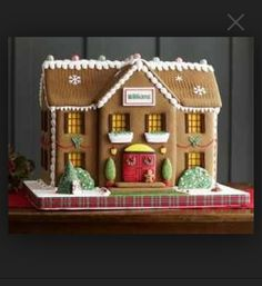 Big Gingerbread House
