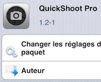 Prendre une photo depuis le lockscreen avec le tweak QuickShoot Pro - http://www.applophile.fr/prendre-une-photo-depuis-le-lockscreen-avec-le-tweak-quickshoot-pro/