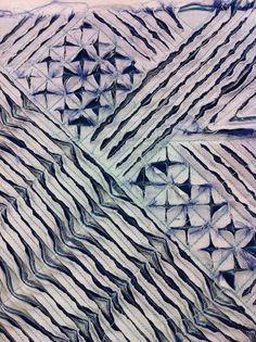Fabric manipulation and textile design - Slashing fabric Textile Manipulation, Fabric Manipulation Techniques, Textiles Techniques, Sewing Techniques, Art Techniques, Fabric Art, Fabric Crafts, Fabric Design, Patchwork Fabric