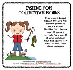 Pitner's Potpourri: Fishing for Collective Nouns -- Freebie