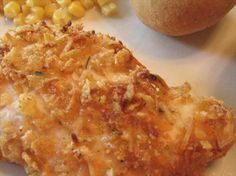 Hidden Valley Ranch Chicken (I've been making this for years using drumsticks and 2 chicken breasts. Can use Panko crumbs instead of cornflakes. Baked Ranch Chicken, Ranch Chicken Recipes, Chicken Bombs, Chicken Meals, Chicken Nuggets, Fried Chicken, Hidden Valley Recipes, Ranch Recipe, Food Dishes