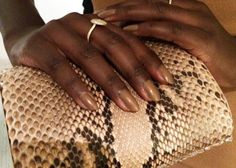 EXCLUSIVE: Behind the Scenes with Lupita Nyong'o and Manicurist Deborah Lippmann At The Producers Guild Awards