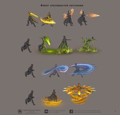 Fire earth light and water Character Concept, Character Art, Concept Art, Art Sketches, Art Drawings, Magic Art, Fantasy Weapons, Character Design Inspiration, Fantasy Characters