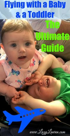 Flying with a baby and a toddler will likely give any parent anxiety. This guide will ease your fear and arm you with the knowledge ahead of time, to make your flight go as smooth as possible!