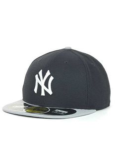 566af2928f4 New York Yankees New Era Mens Navy and Grey Road Diamond Era 59FIFTY Fitted  Hat http