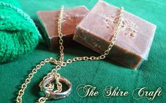 Lembas Soap Natural Handcrafted Soap by TheShireCraft on Etsy Soap, Pendant Necklace, Trending Outfits, Natural, Unique Jewelry, Handmade Gifts, Etsy, Kid Craft Gifts, Craft Gifts