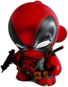 #dailycustom 'Deadpool' by Fuller Designs. Custom #munny #marvel