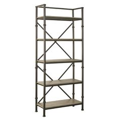 Turnkey Products LLC Franklin 72 Etagere BookcasesDining Room