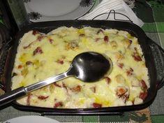 Receita de Torta de batata com calabresa. Enviada por Livia Maria Lopes Pastro Carlétti e demora apenas 35 minutos.