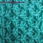 different knitting stitches for scarves Grid