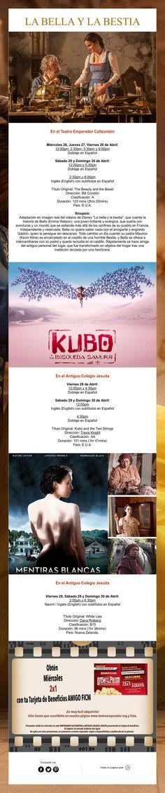 Estas son las películas de la semana de nuestra cartelera. ¡Nos Vemos en el Cine!