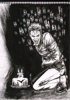 Joker For 75 Year of Batman - Garrie M Gastonny